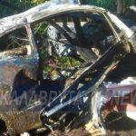 Τροχαίο – σοκ: Εξερράγη όχημα μετά τον απεγκλωβισμό οδηγού στην επαρχιακή οδό Πατρών – Τριπόλεως