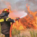 Φωτιά ξέσπασε στις Ερυθρές του δήμου Μάνδρας