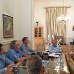 Συνάντηση Π. Νίκα με τουριστικό οργανισμό πελοποννήσου