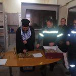 Η Πυροσβεστική Υπηρεσία Κορίνθου έκοψε την πίτα της (ΦΩΤΟ)