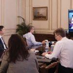 Τηλεδιάσκεψη Μητσοτάκη –  Δήμα με ιδρυτές ελληνικών επιχειρήσεων  τεχνολογίας