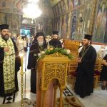 Τελευταία Ι. Παράκληση στην Υπεραγία Θεοτόκο από τον Σεβ. Μητροπολίτη κ. Διονύσιο και τον Θεοφ. Επίσκοπο Κεγχρεών κ. Αγάπιο