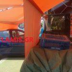 Πάτρα: Έχασε τον έλεγχο και κατέληξε με το αυτοκίνητό της μέσα σε μανάβικο – Δείτε τις εικόνες