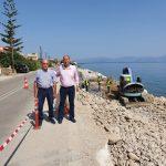 Εργασίες για την αντιμετώπιση της διάβρωσης στον Κορινθιακό Κόλπο