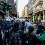 Ένταση στο κέντρο της Αθήνας – Πέντε προσαγωγές – Τρεις αστυνομικοί τραυματίστηκαν